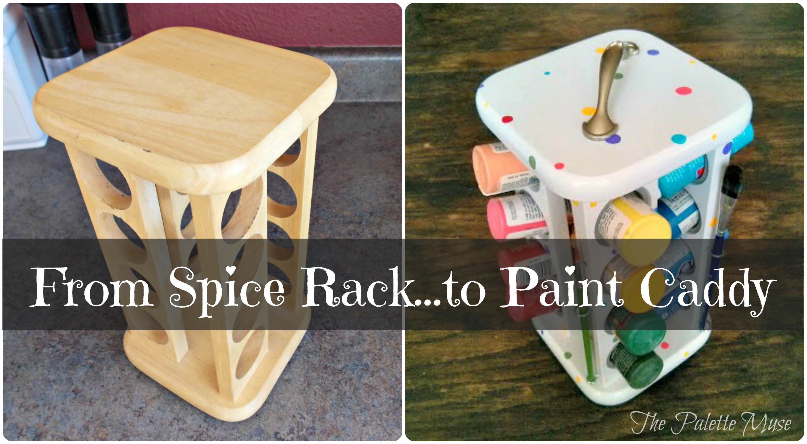 Spice Rack To Paint Caddy - HMLP Feature