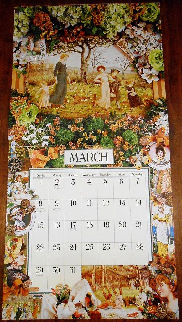 March 2015 - Victoriana Calendar