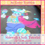 Sidewalk Chalk Tutorial