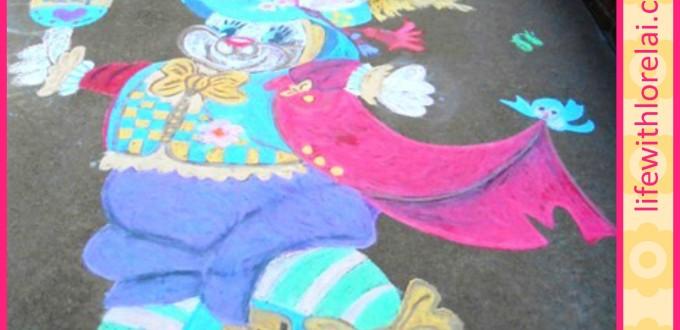 Sidewalk Chalk Tutorial