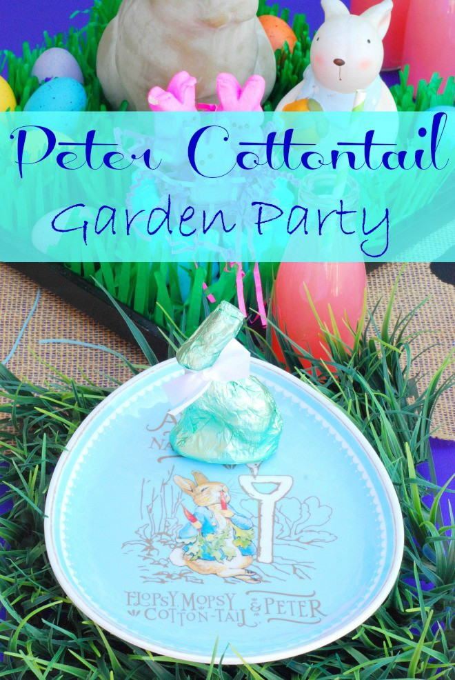 Peter Cottontail Easter Tablescape - HMLP Feature 2015-MAR-27