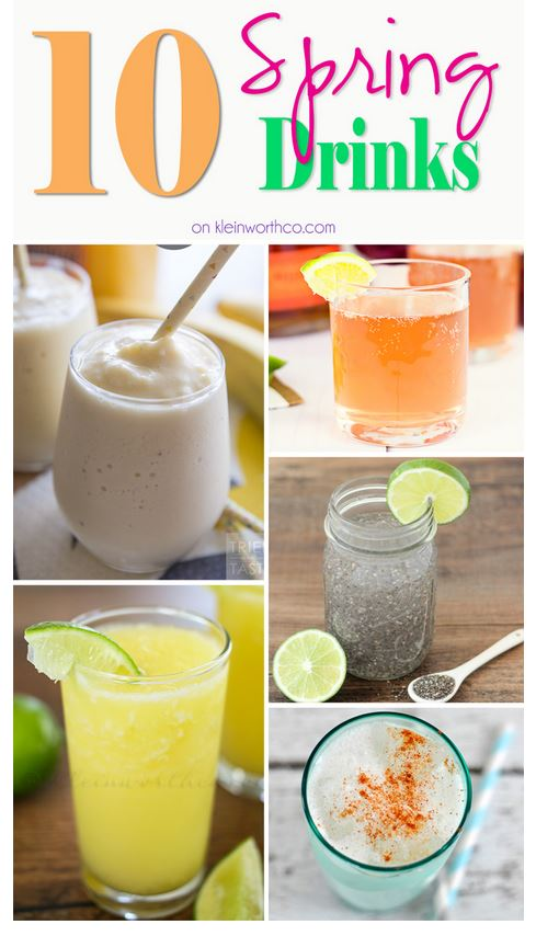 10 Spring Drinks - HMLP Features