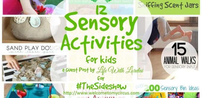 12 Sensory Activities For Kids