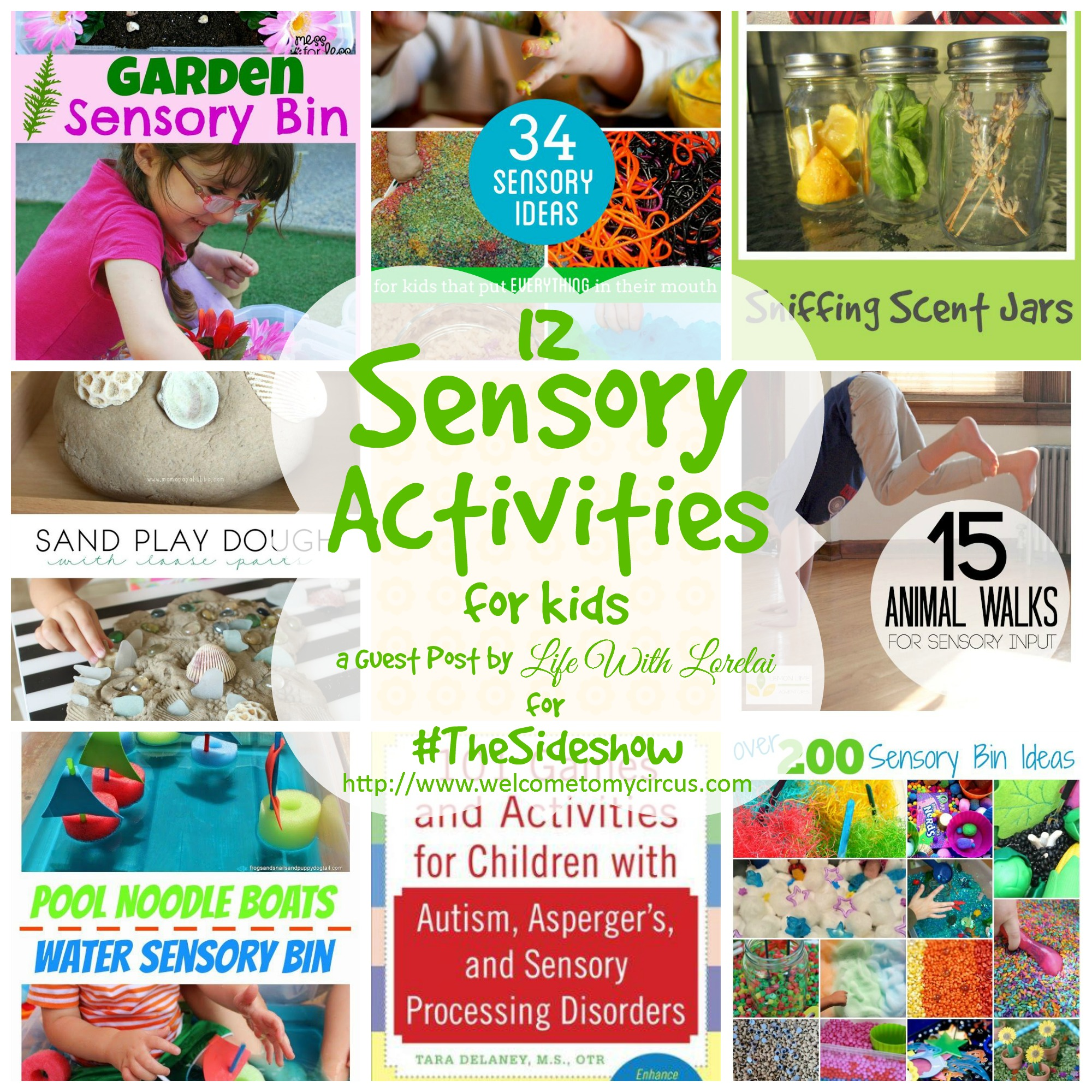 12 Sensory Activities for Kids - Life With Lorelai - The Sideshow