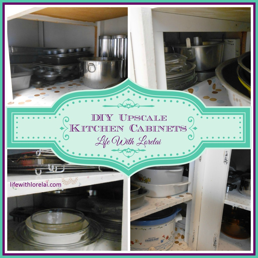 Kitchen cabinets diy upscale life with lorelai for Lifestyle kitchen units