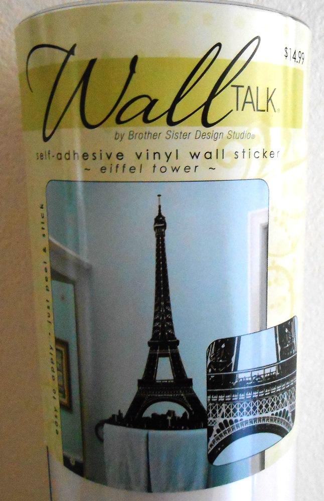 Eiffel Tower Vinyl Wall Art - LIfe With Lorelai