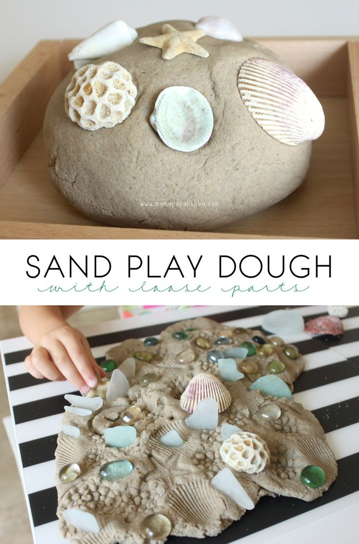 Sand Play Dough