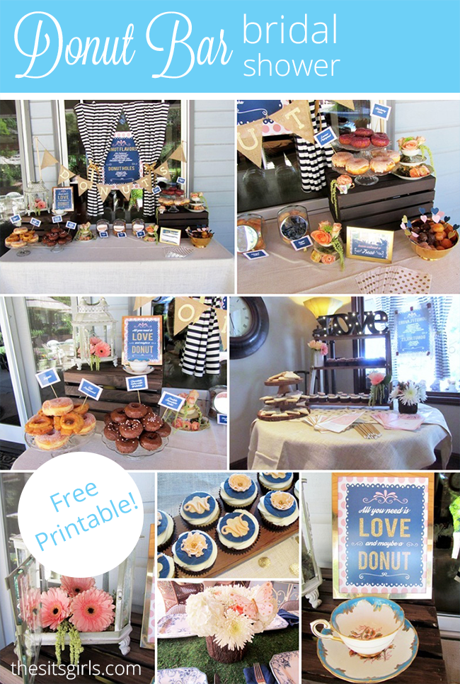 Donut Bar Bridal Shower - HMLP Feature
