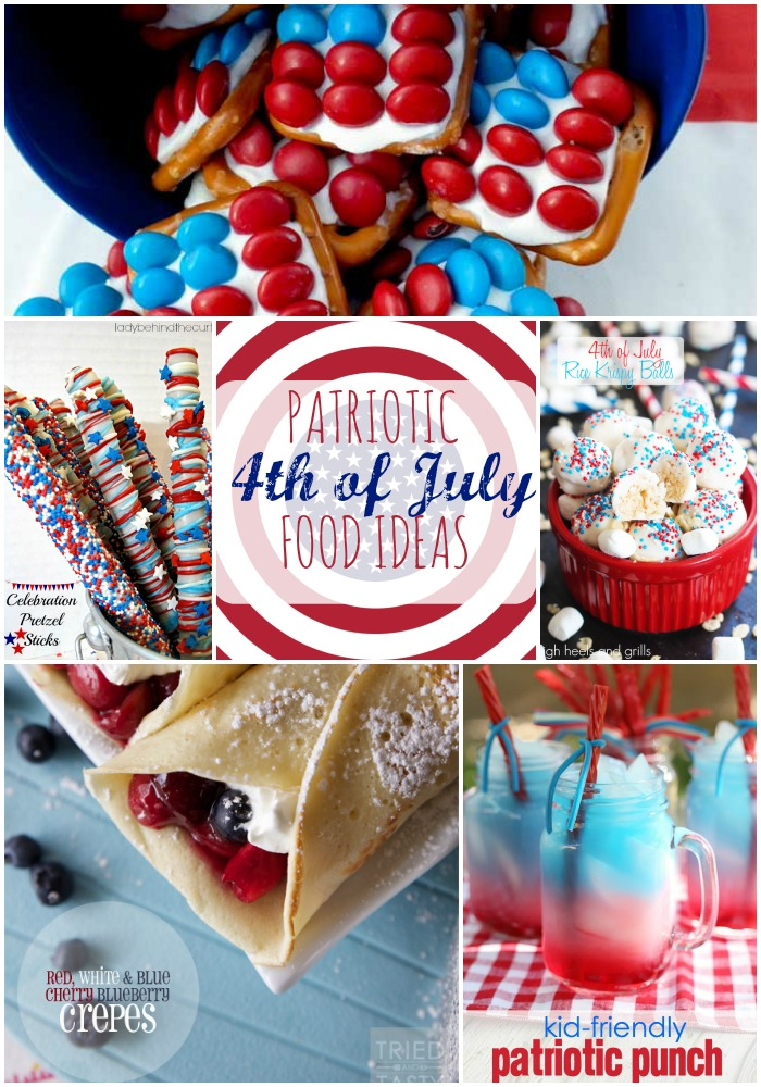 Patriotic 4th of July Food Ideas - HMLP 42