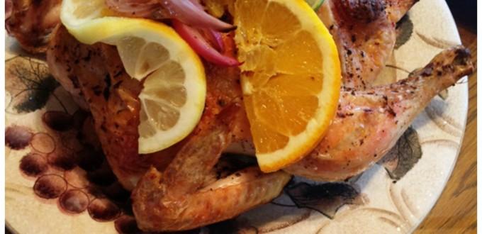 Citrus & Shallot Roasted Chicken