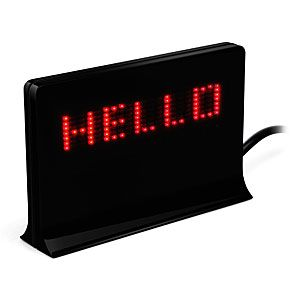 USB Programmable LED Message Board