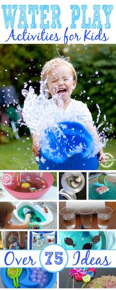 75 Water Play Ideas - Kids Activities Blog