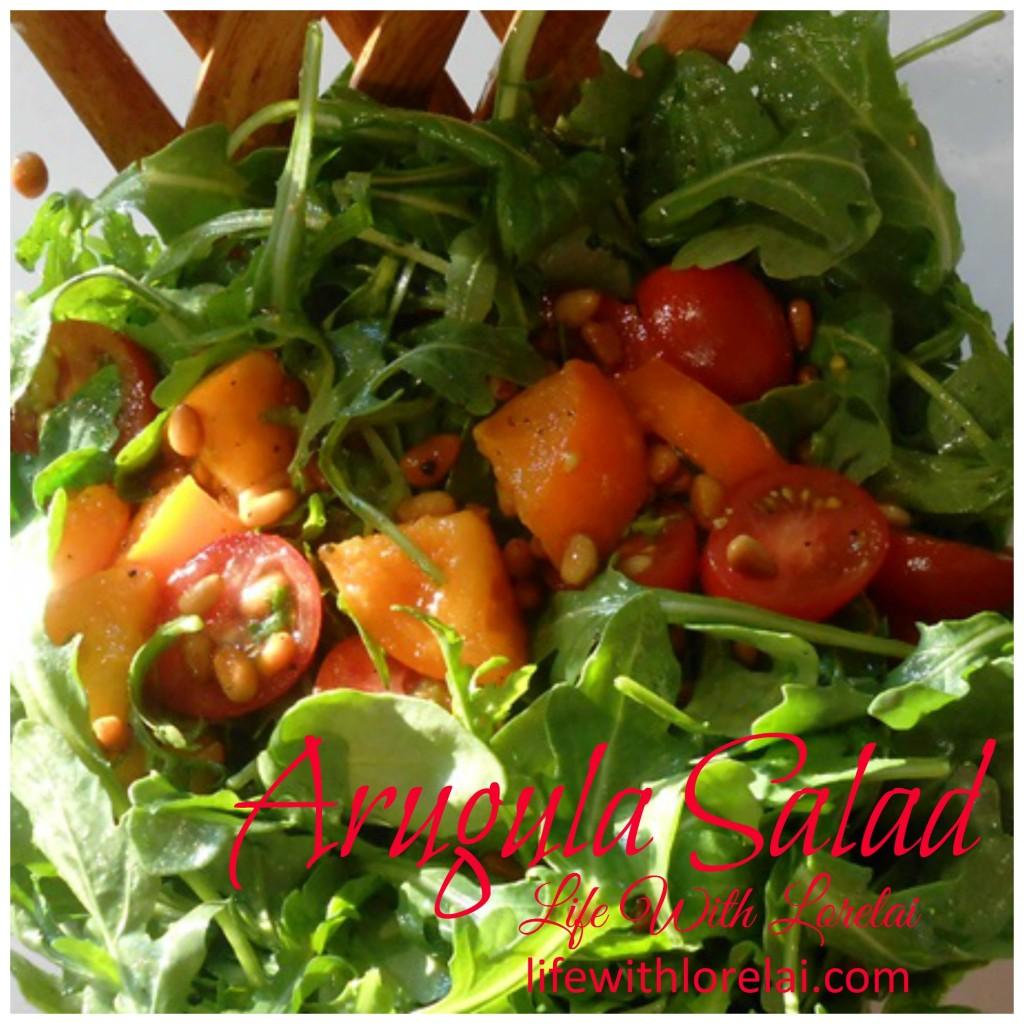 Arugula Salad promo - Life With Lorelai