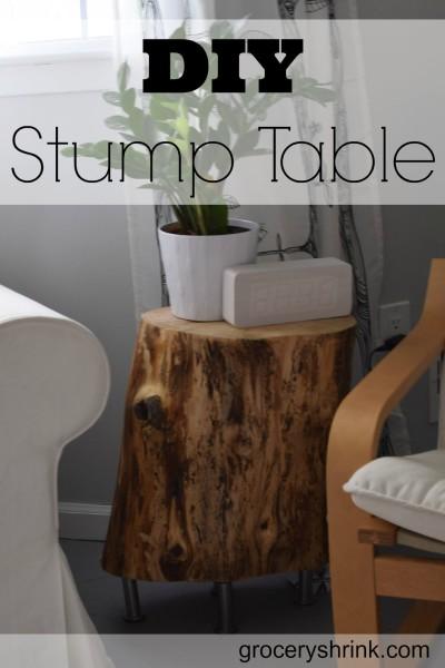 DIY Stump Table - HMLP 49 Feature