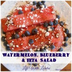 Watermelon, Blueberry & Feta Salad Recipe