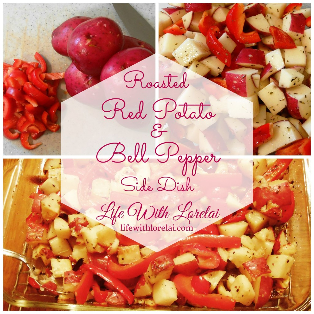 Roasted Red Potato & Bell Pepper Side Dish - Life With Lorelai
