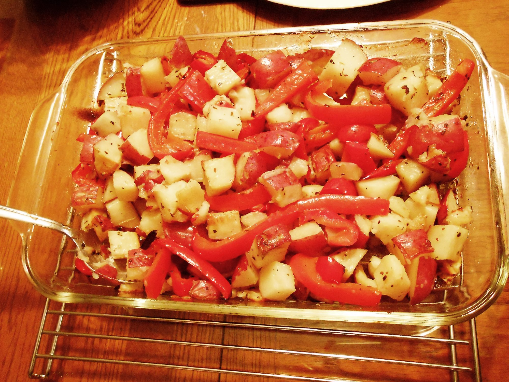 Roasted Red Potato & Bell Pepper