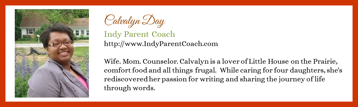 Calvalyn Day - Indy Parent Coach - Contributor Bio Graphic