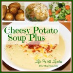 Soup Recipe – Cheesy Potato Soup PLUS