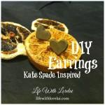 DIY Earrings – A Kate Spade Inspired Bridesmaids Gift