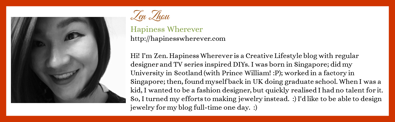 Zen Zhou - Hapiness Wherever - Contributor Bio Graphic