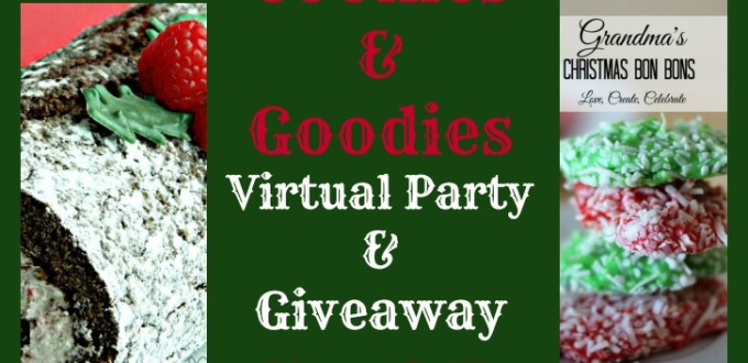 2015 Ultimate Cookie & Goodies Virtual Party and Giveaway!