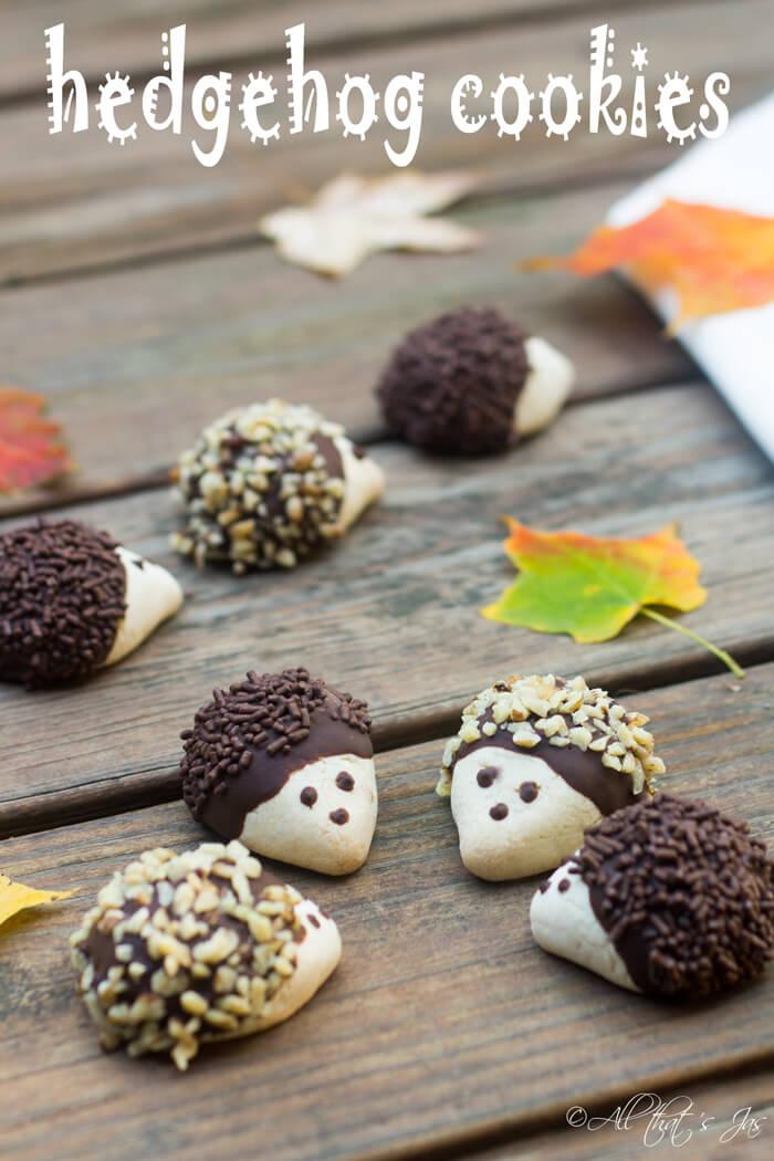 Hedgehog Cookies - All That's Jas - HMLP 63 Feature