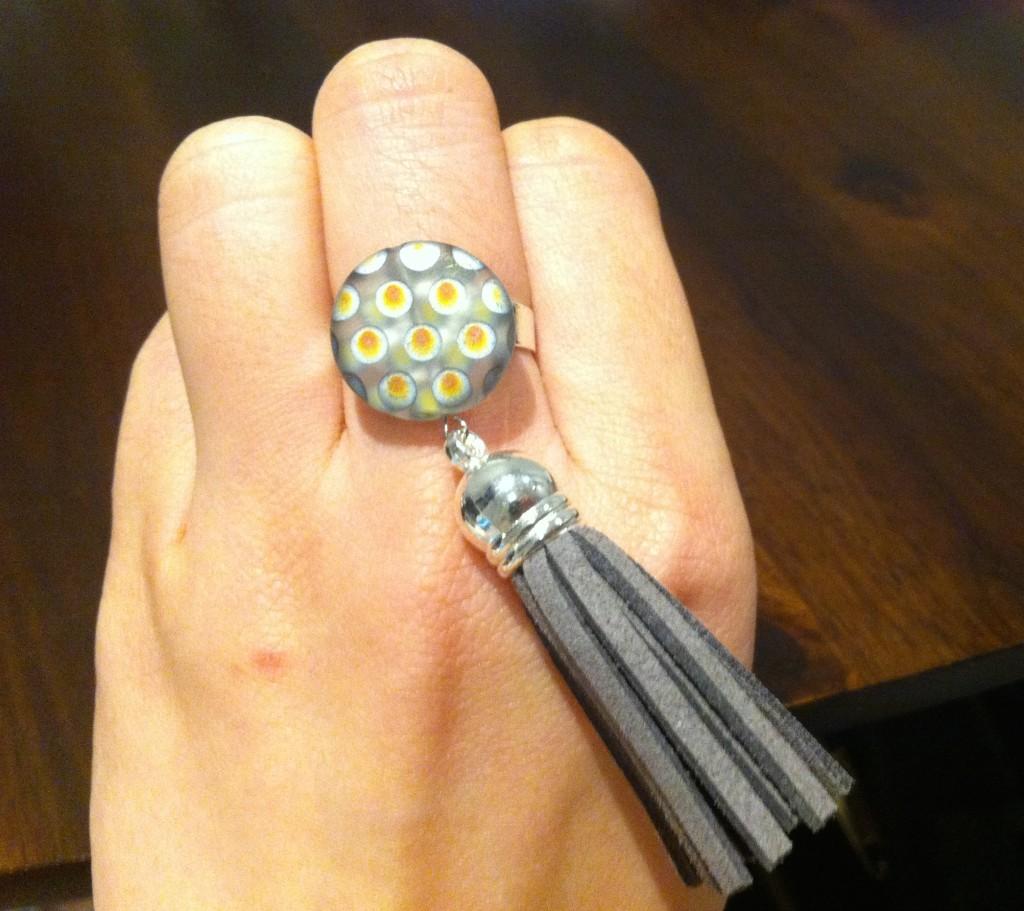 DIY Tassel Ring
