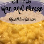 Simple Mac and Cheese Recipe