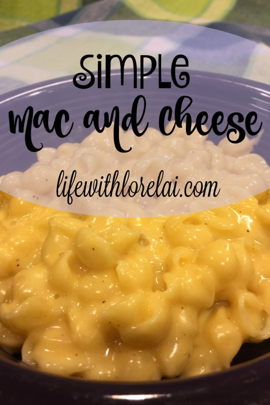 Nov 12 Post - Simple Mac and Cheese Title - Deborah Ward