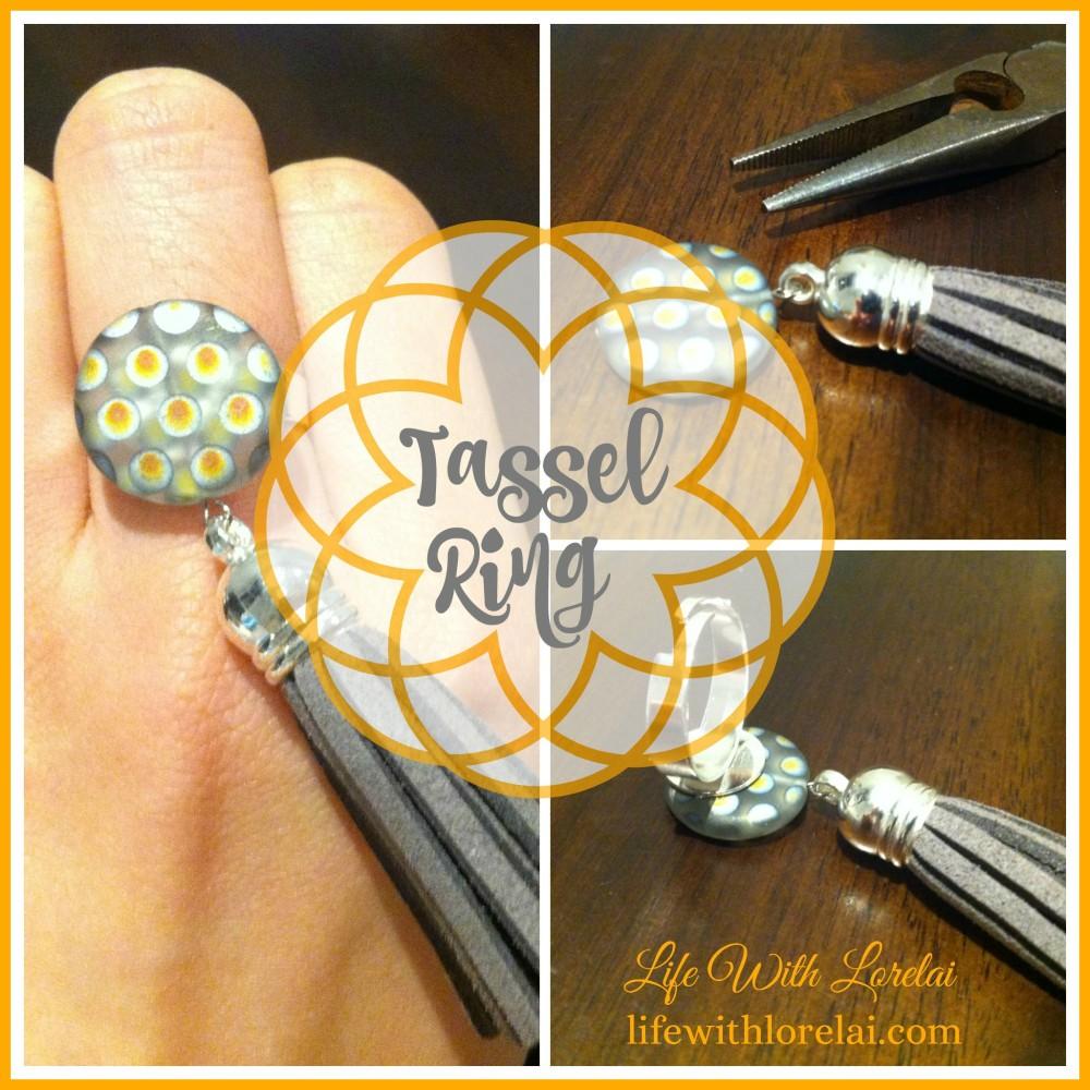 DIY Tassel Ring - Life With Lorelai