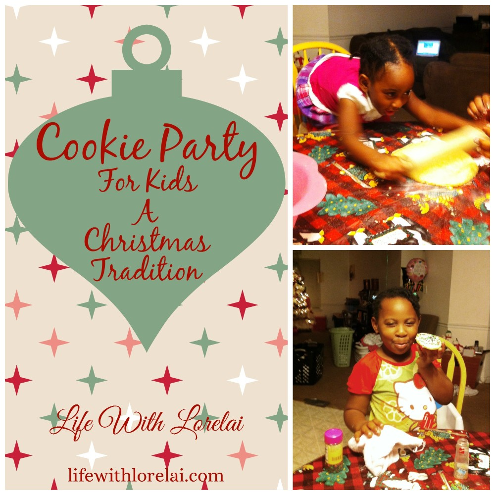 Cookie Party For Kids - A Christmas Tradition - Life With Lorelai