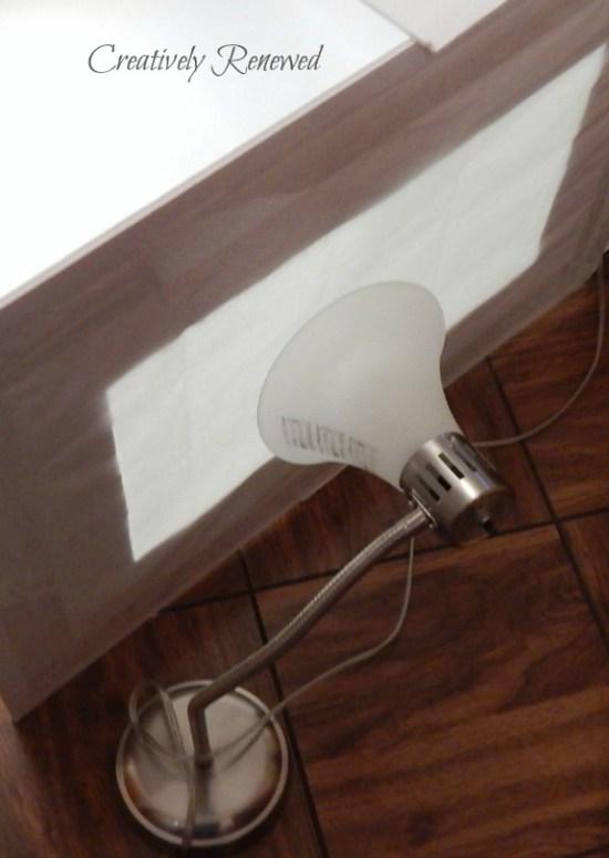 DIY Portable Photography Light Box - Creatively Renewed - HMLP 67 Feature