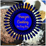 Freezer Cooking The Easy Way