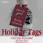 Holiday Tags – Free Printable