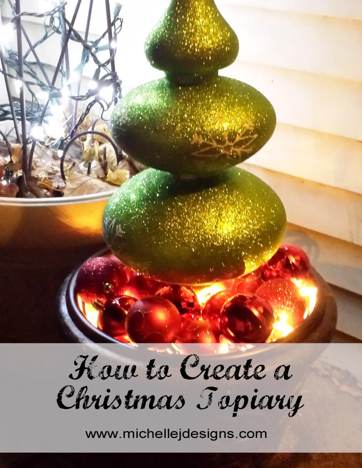 Christmas Topiary - 1