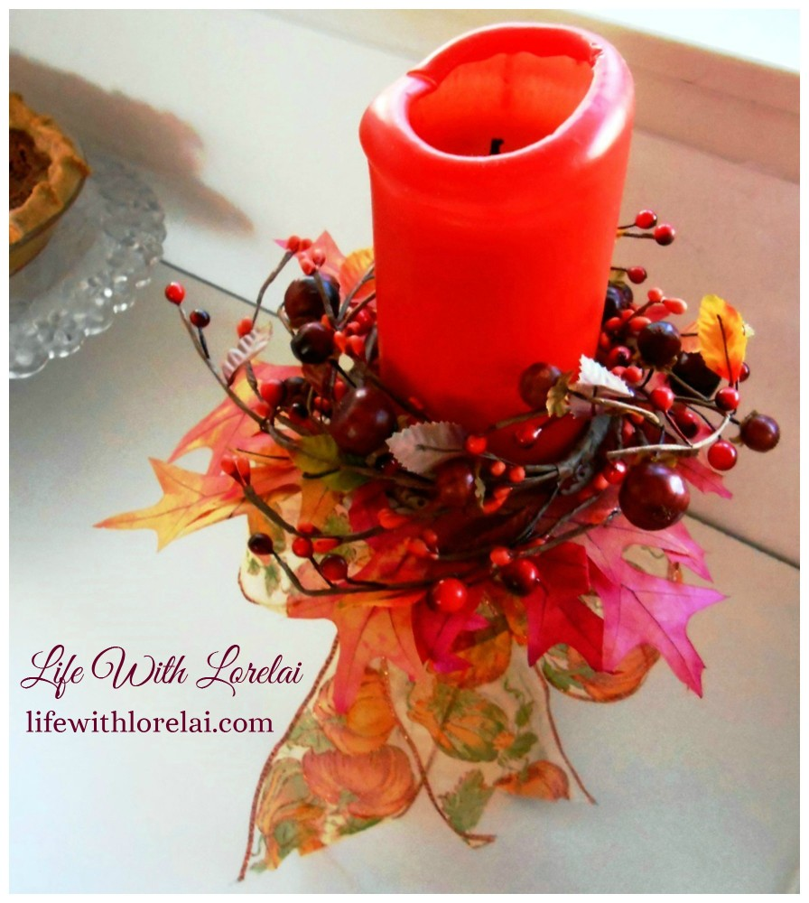 Autumn-Candlestick