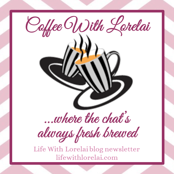 Coffee With Lorelai button - winter 2016