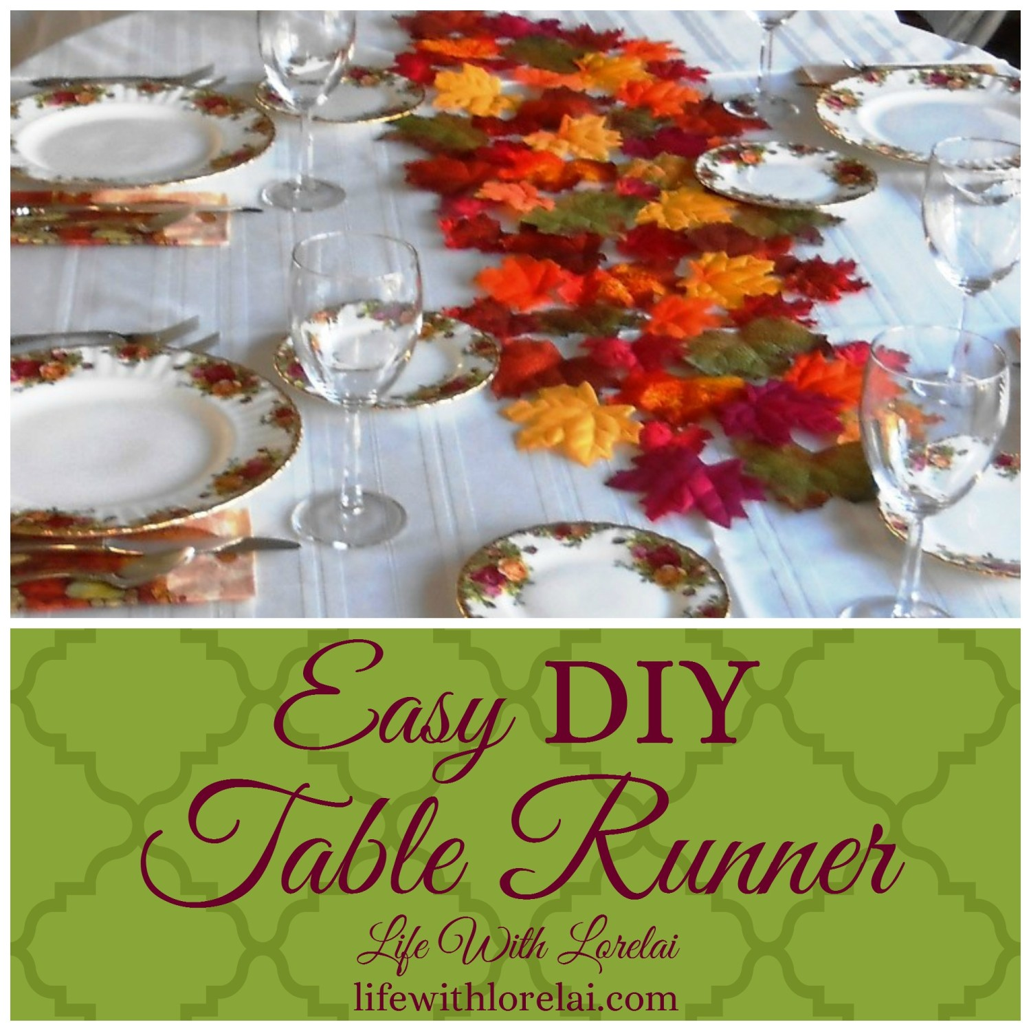 Create a unique table runner to fit any party theme with this easy DIY project.