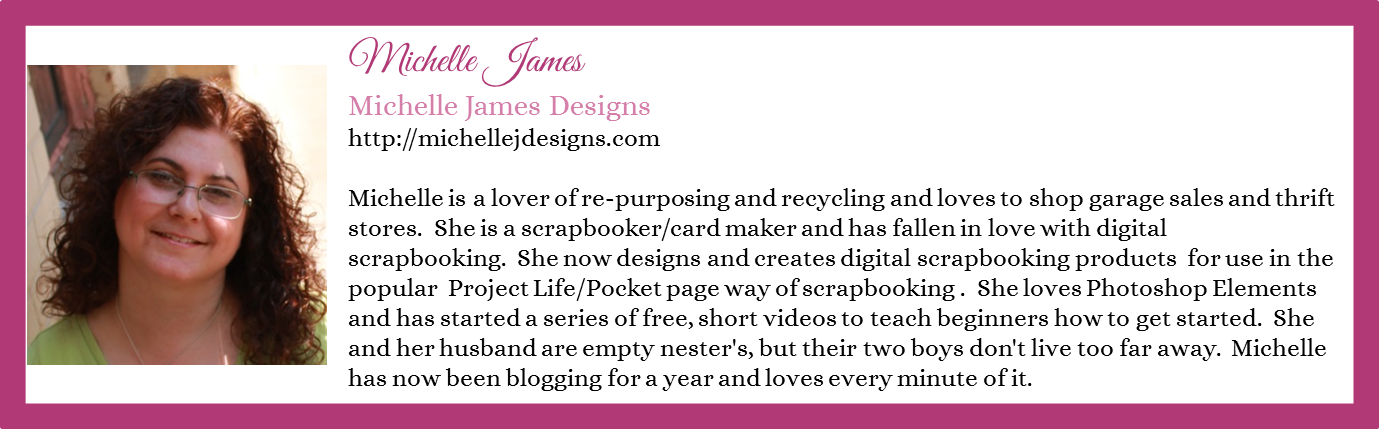 Michelle James - Michelle James Designs - Contributor Bio Graphic - Winter 2016