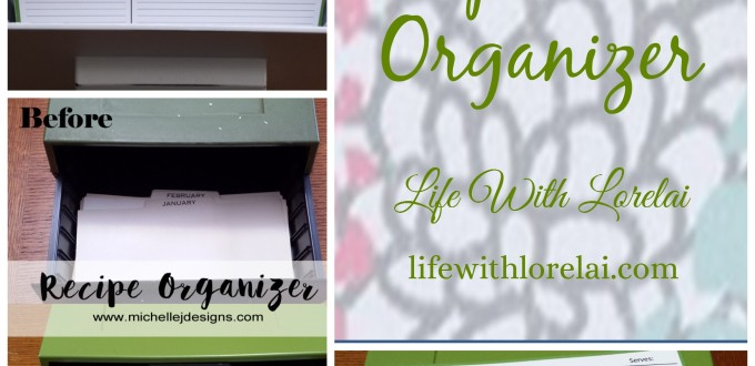 Recipe Card Organization and Free Download