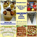 SNICKERS® Mini Pudding Parfaits for Game Day
