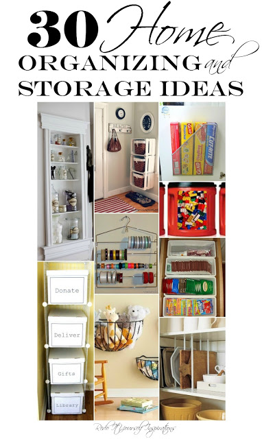 30 Home Organizing and Storage Ideas - Re Do It Yourself Inspirations - HMLP 72 Feature