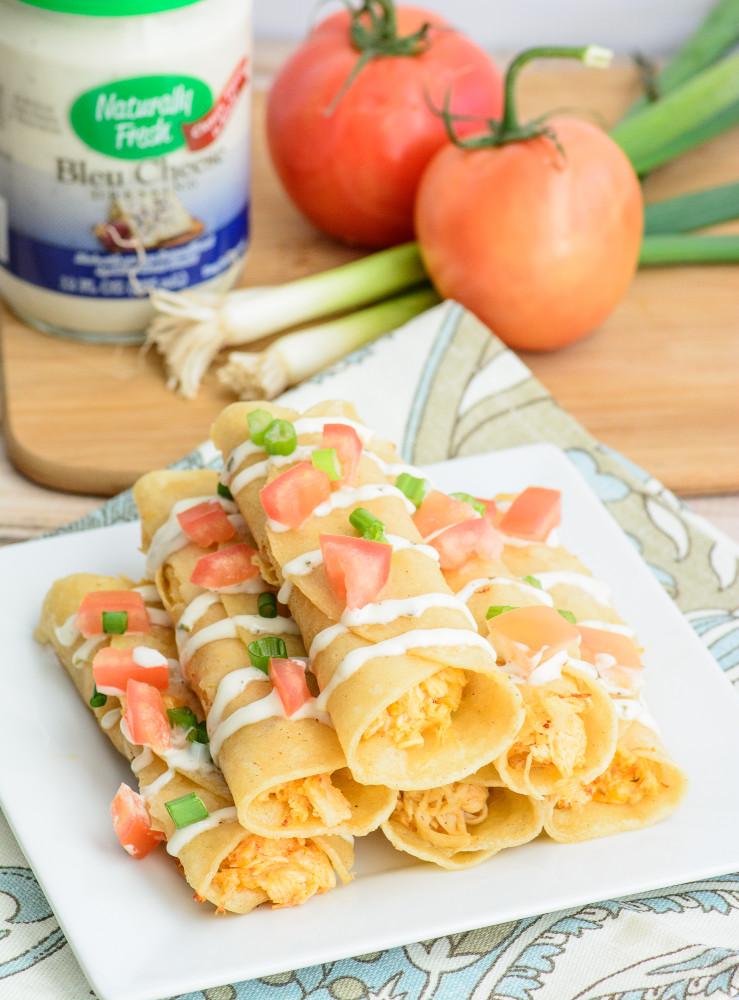 Buffalo Chicken Taquitos - Almost Supermom -HMLP 72 Feature