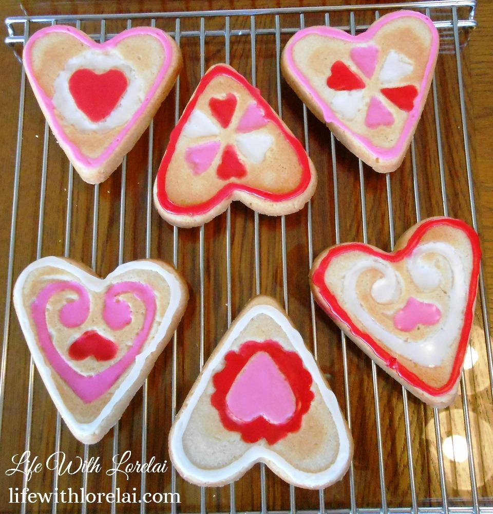 Heart-Shaped Sugar Cookies - Life With Lorelai