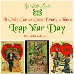 Leap Year Day! It Only Comes Once Every 4 Years