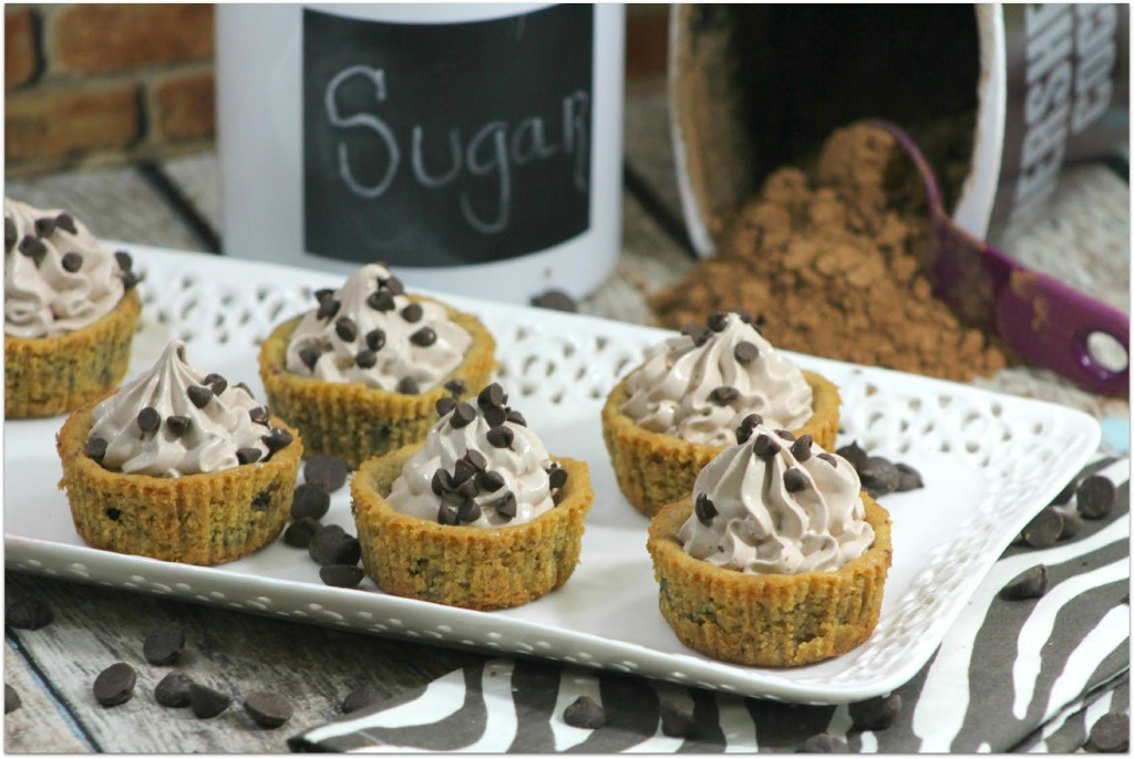Mousse Filled Chocolate Chip Cookie Cups - Virtually Yours - HMLP 72 Feature
