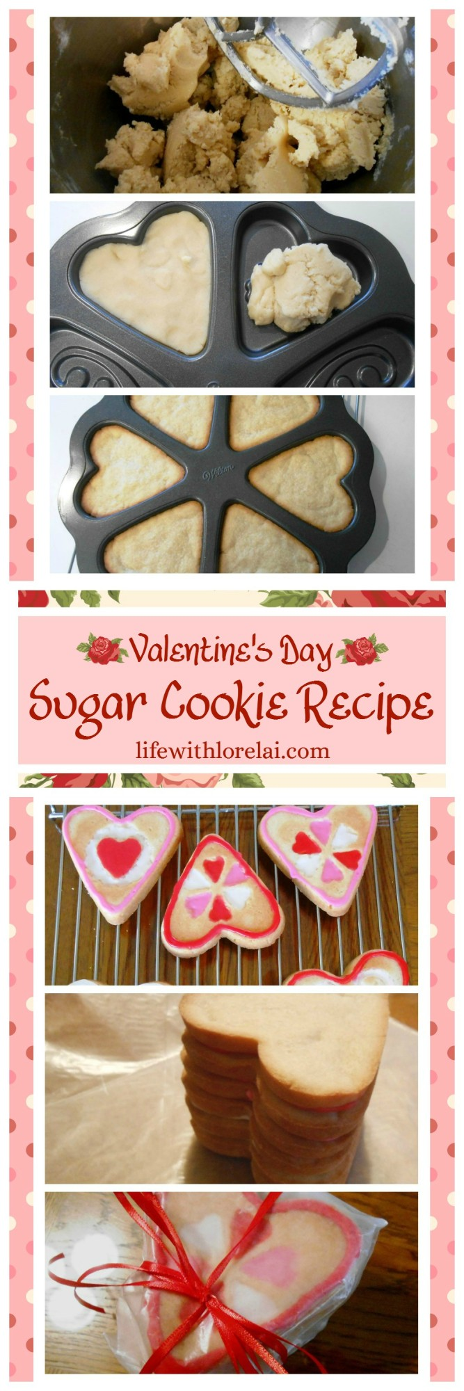 Valentine's Day Sugar Cookie Steps.Strip - Life With Lorelai