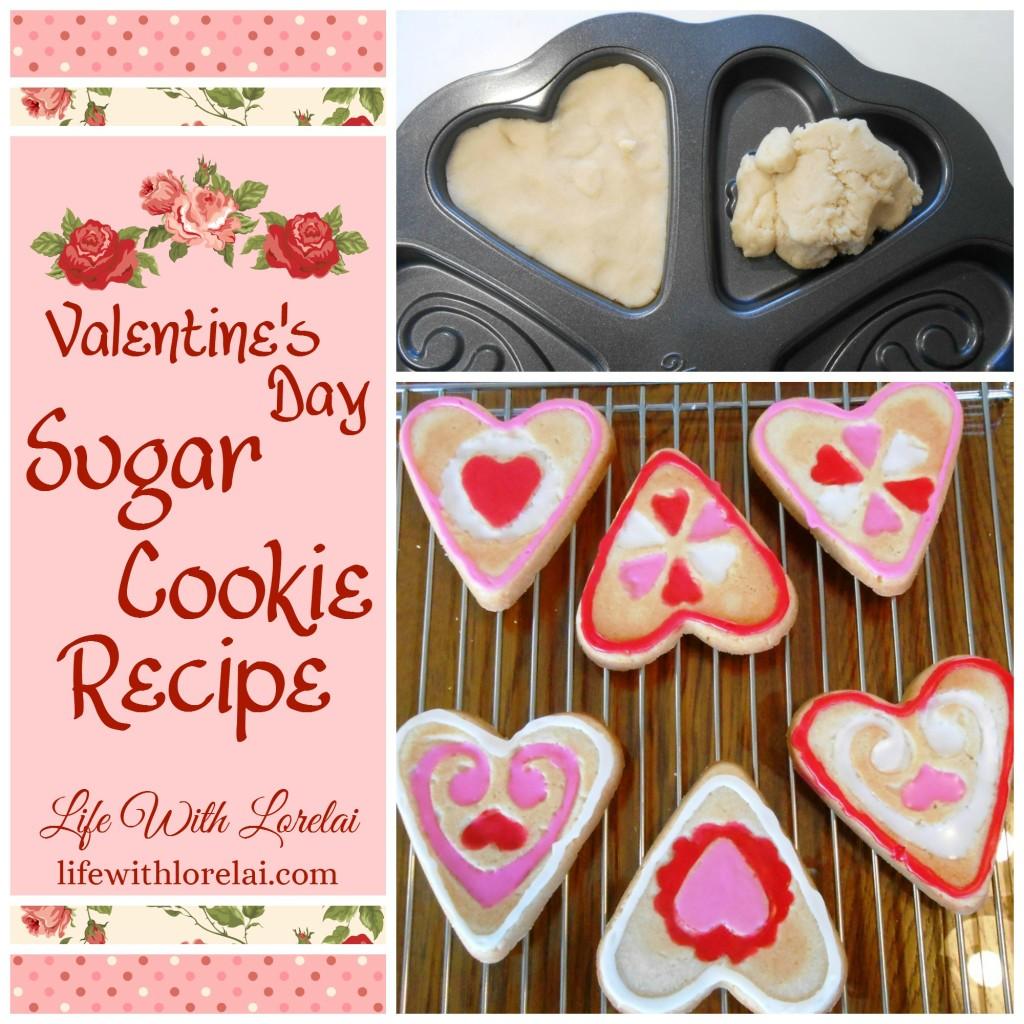 Valentine's Day Sugar Cookies Recipe - Life With Lorelai