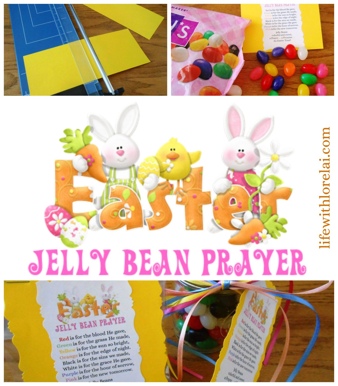 Easter Jelly Bean Prayer - Life With Lorelai